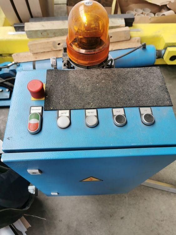 German 2100 mm reel turner, 2015 &  little used