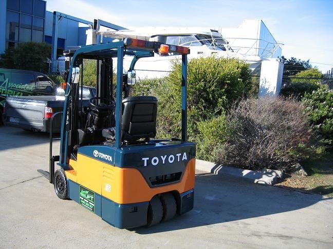 Toyota 7FBE15 1.5 t Capacity