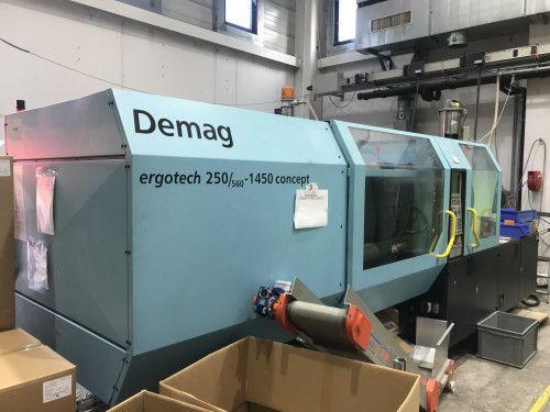 Demag ergotech 250/ 560 – 1450 concept 250 T
