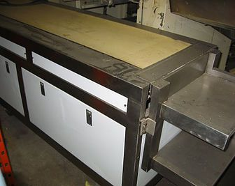 2 Others Stainless Steel Pack-Off Tables