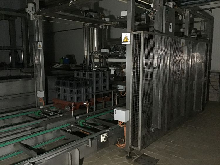 Tecnomatic Cheese Box Palletizer
