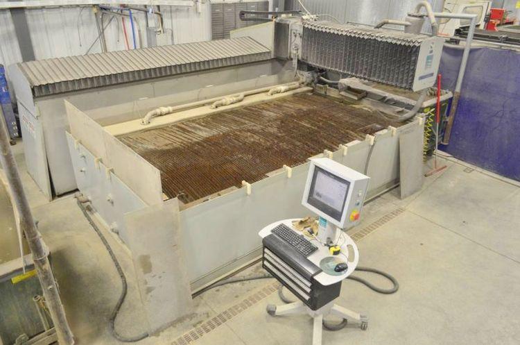 Flow INTEGRATED FLYING BRIDGE 6012 CNC WATERJET CUTTING MACHINE FLOW MASTER CNC CONTROL
