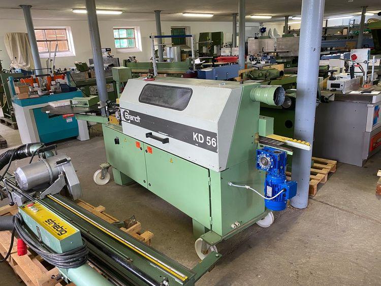 Brandt KD56, Gluing Press