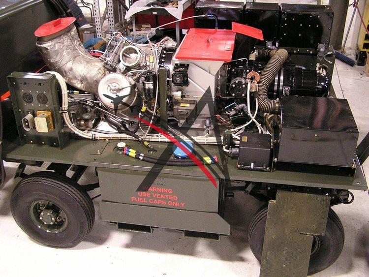 Libby AM32-60B, Turbine Airstart