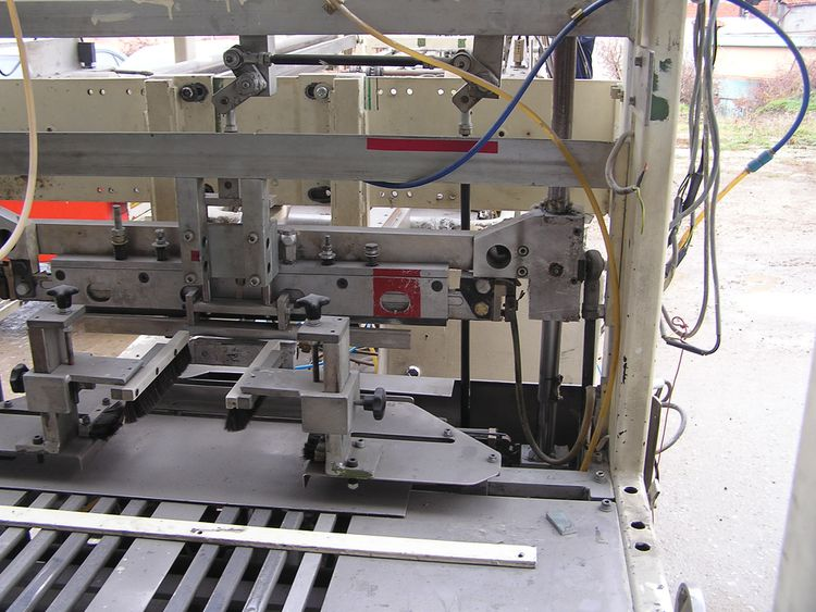 PCMC PREMADE bagging machine for 6pack (2x3), 8pack (2x4), 10pack (2x5)