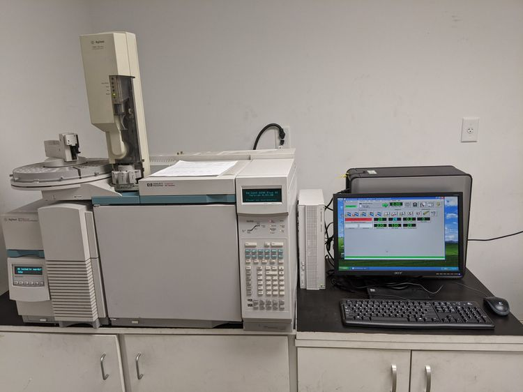 Agilent Technologies HP 6890, 5973N GC-MS