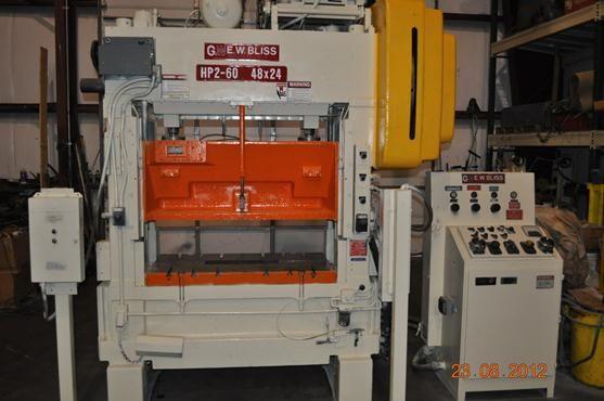 Bliss SSDC PRESS HP2-60 60 TON