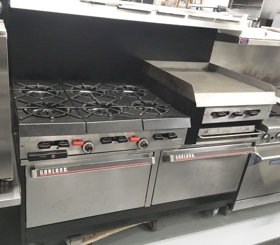 Garland RAISED GRIDDLE/BROILER