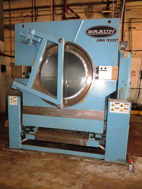 Braun 200NOLUVP 200lb Washer extractor