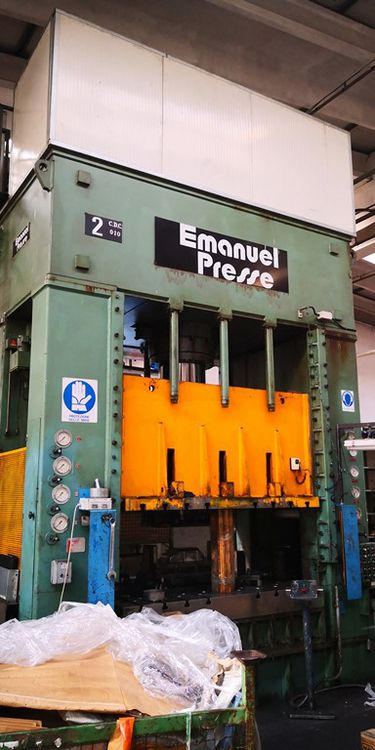 Emanuel Press Emanuel 400 ton 400 Ton
