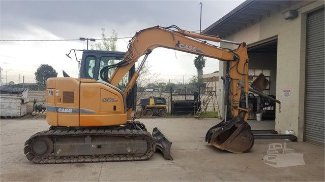 Case CX75SR Excavator