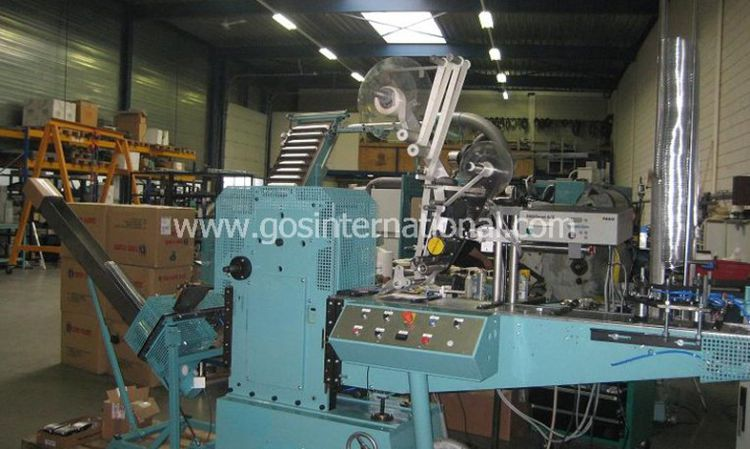 Van Dam 460 / Pagomat 6-2, Labeling machine for lids