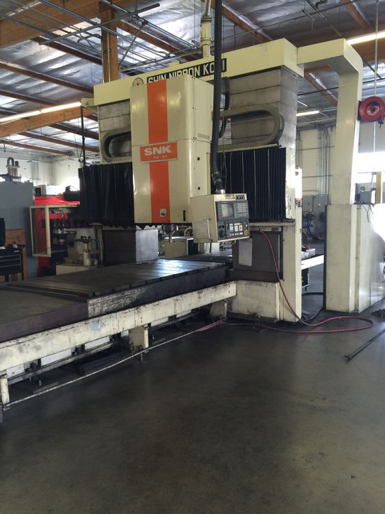SNK RB2 CNC Vertical Machining Center New: 3 Axis