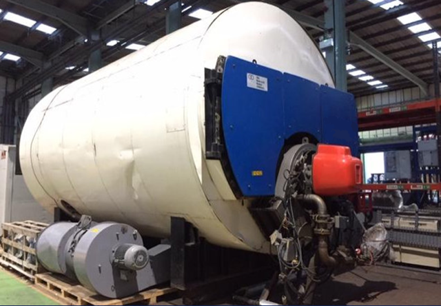 Babcock High Quality Gas/Dual Fuel Boiler  22 bar 15 ton/ hr