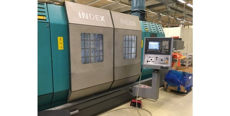 Index C200-4D (SIEMENS 840D Powerline) 3500 rpm G250 9 axis
