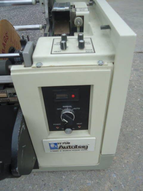 Autobag H-75, BAGGER