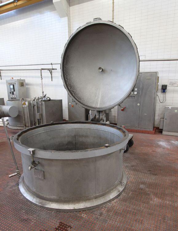 Thies Drucktrockner HT cone/bobbin dryer