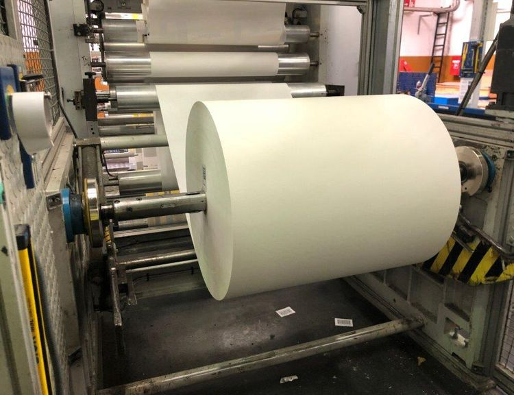 Comexi FL2508, Waterbased gearless printing press 8 col. 1270 mm