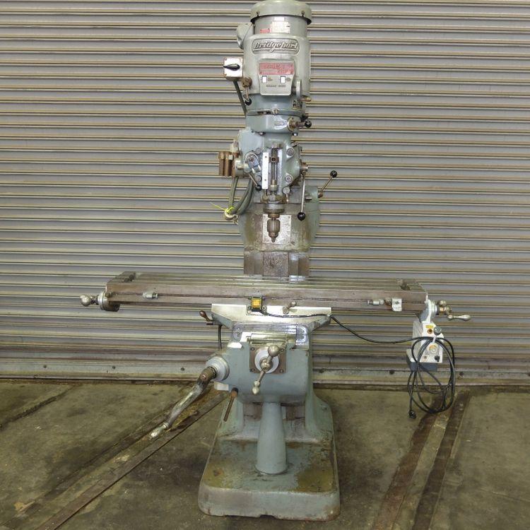 Bridgeport Series I Vertical Milling Machine 4200 RPM