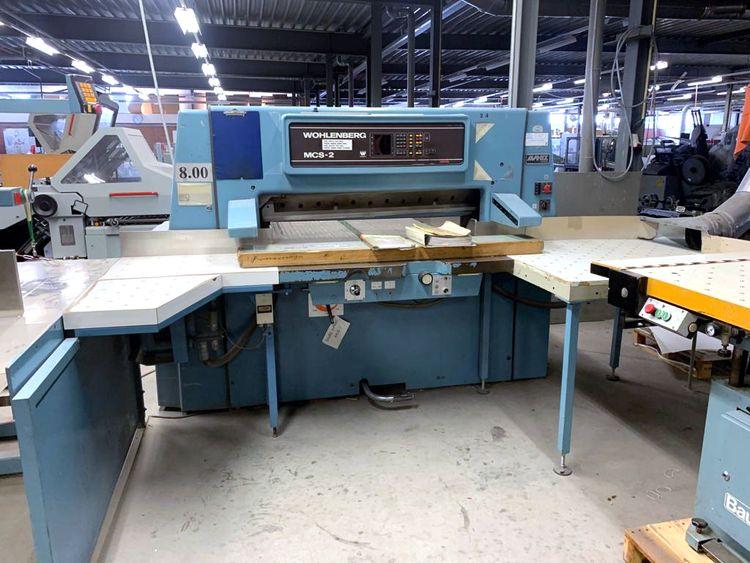 Wohlenberg MCS-2 115, Cutting line