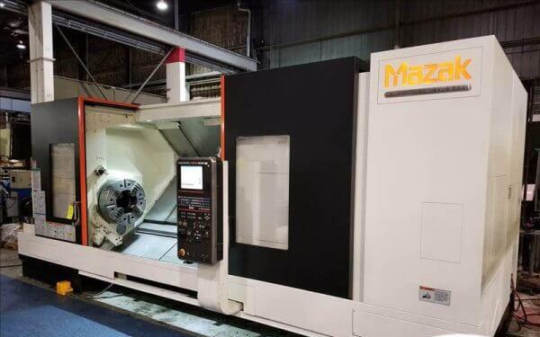 Mazak Mazak Mazatrol Matrix Nexus CNC Control 1000 RPM Slant Turn Nexus 550 CNC Turning Center 2 Axis
