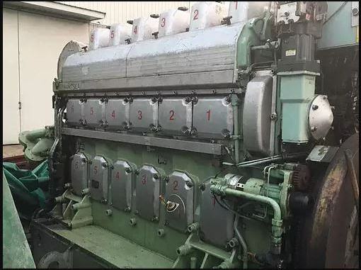 Wartsila 6L20 COMPLETE ENGINE
