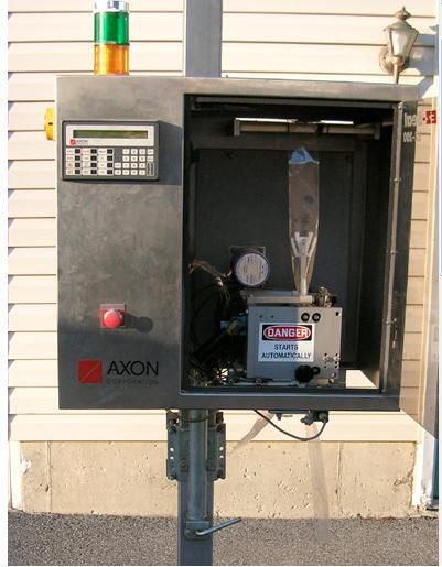 Axon EZ-200, auto band applicator
