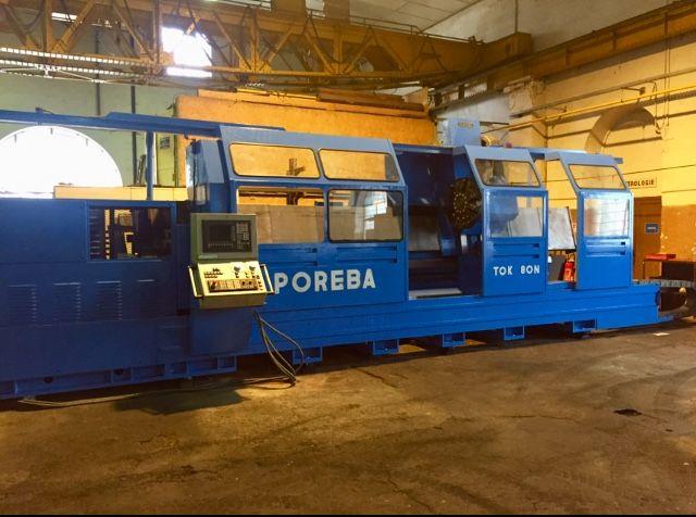 Poreba Siemens 810 - D with Shop Turn 3000 rpm TOK 80 x 4000 2 Axis