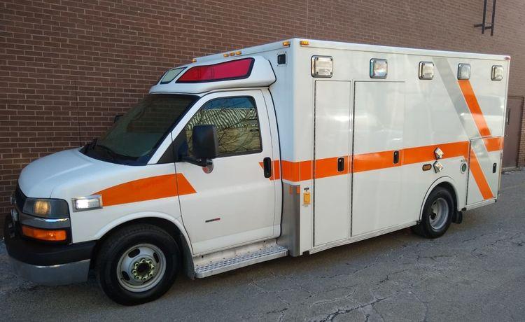 Chevrolet Express Diesel, Ambulance