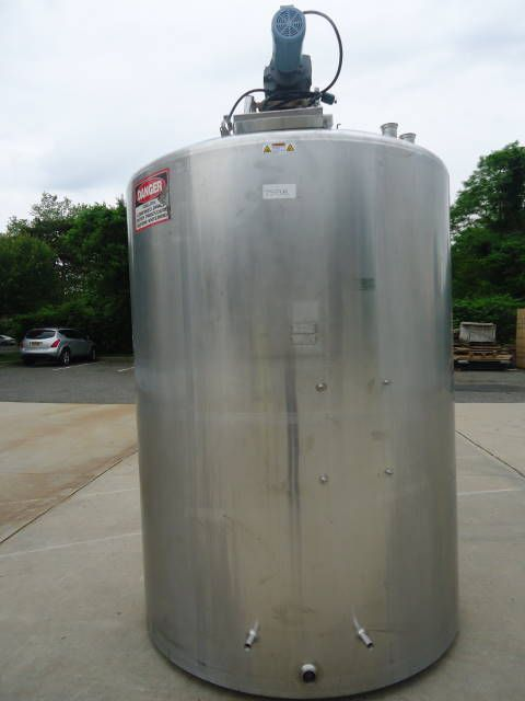 DCI DIMPLE JACKETED MIX TANK DIMPLE JACKETED MIX TANK