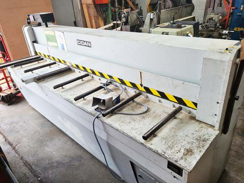 Cidan MS-X 25/3.5 MECHANICAL GUILLOTINE