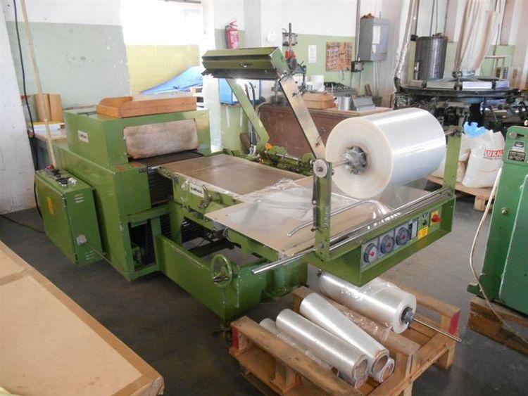 Kallfass KC 5050, L-sealer foil wrapping machine 500x500x300 mm