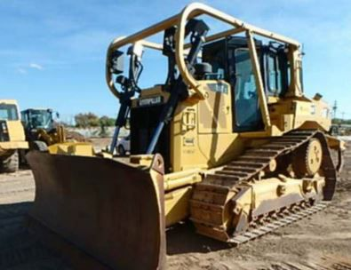 Caterpillar D6T XL Tracked bulldozers