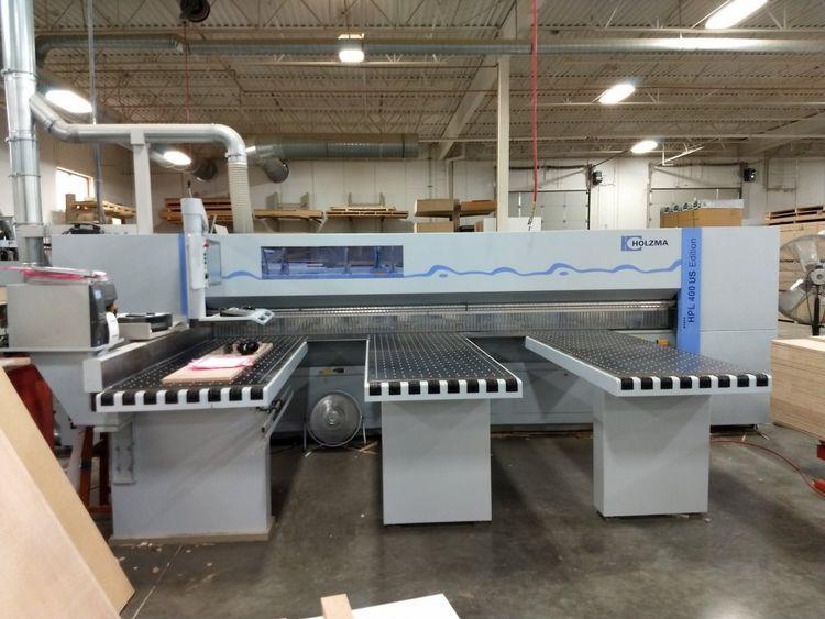 Holzma HPL 400US, Rear Load Panel Saw