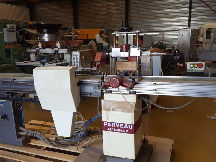 Alternax, Parveau Horizontal Chisel mortising machine