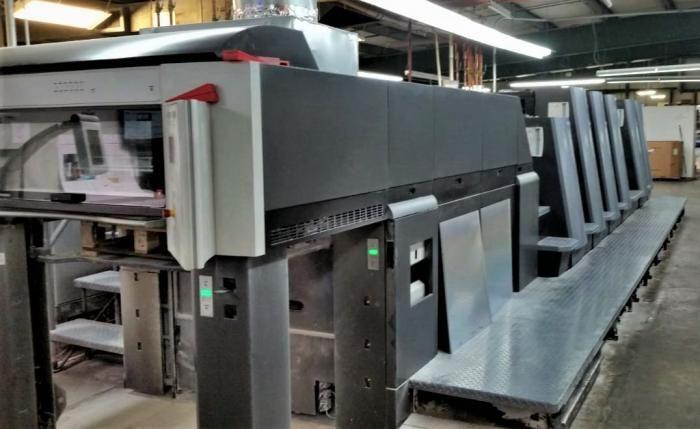 Heidelberg Speedmaster CD 74-5P+LX (F) 590mm x 740mm
