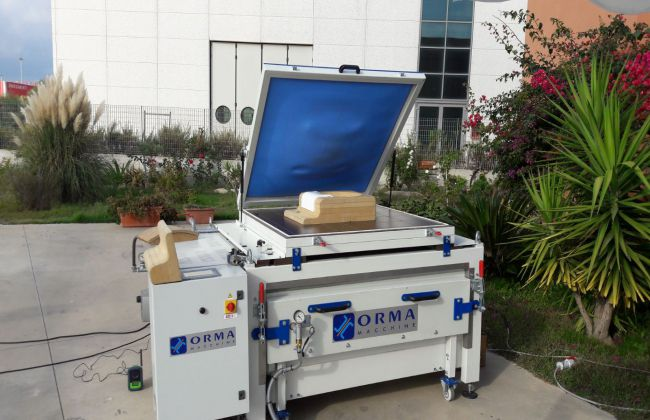 Orma DUPLEX D7900, Press with membrane