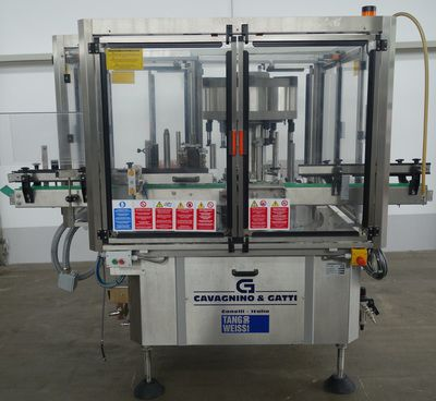 Cavagnino & Gatti CG72TR2/6, labeler