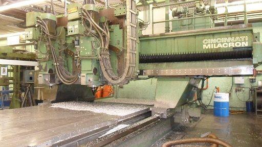 Cincinnati Boring Mill Table Type Machine 20.3 cm Max. 3600 Rpm