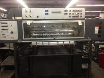 Heidelberg 102ZP, Offset 2 Colours Press Machine