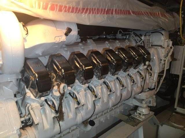 new mtu- 16v 4000 90- 3650hp @ 2100 rpm, tier ii engines
