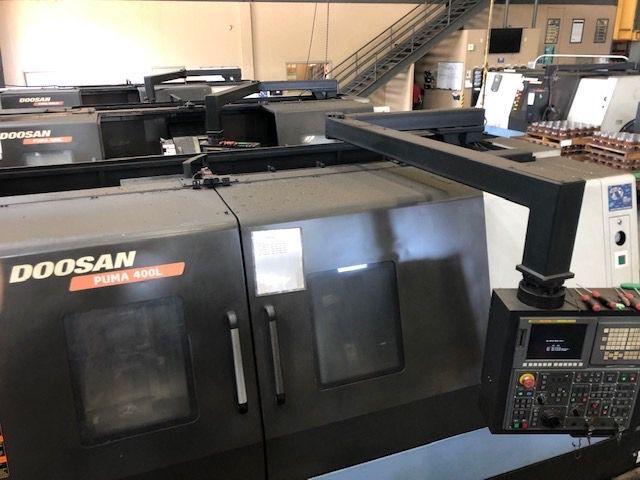Doosan FANUC CONTROL 1500 rpm PUMA 400LC 2 Axis