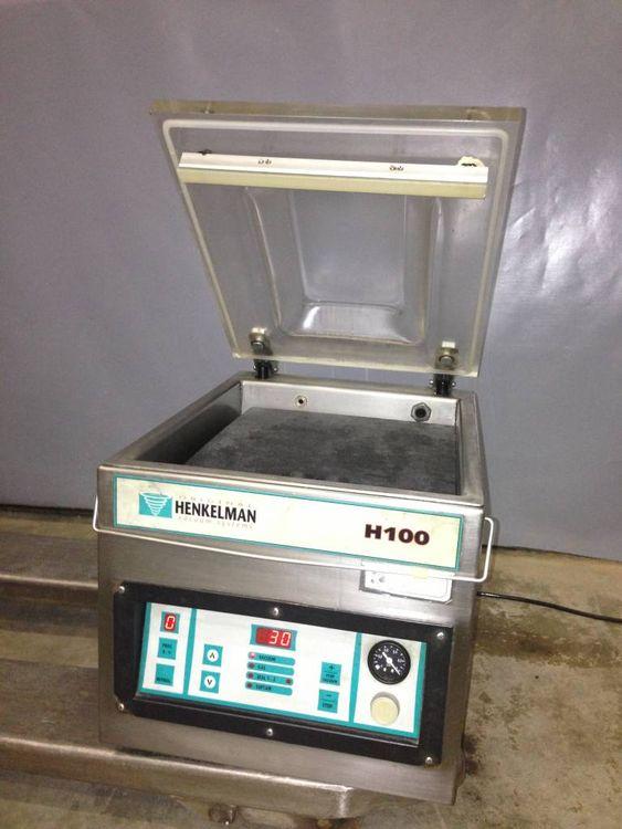 Henkelman H100, Vacuum Machine