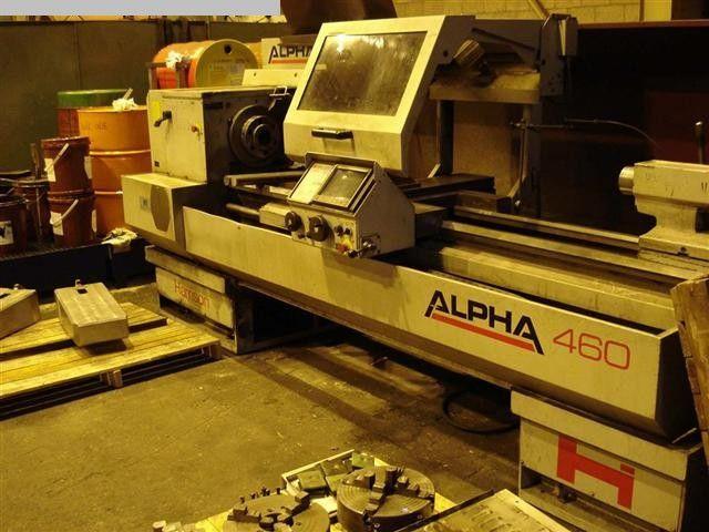 Harrison Fanuc OT 2000 rpm Alpha 460 1997 2 Axis
