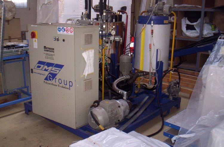 hot pressure polyurethane Injection moulder DMS