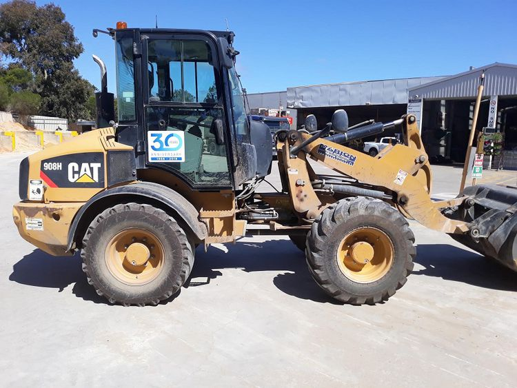 Caterpillar 908H Wheel Loader