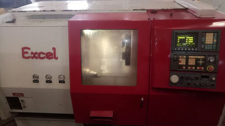 Excel GE Fanuc Series O-T CNC Control 4000 rpm SL-320HS 4 Axis