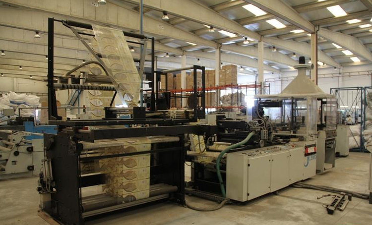 Lemo ST650 Bag making machine