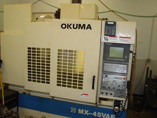 Okuma OSP 700 CNC Variable MX-45VAE OSP 700 CNC w/CRT 2 Axis
