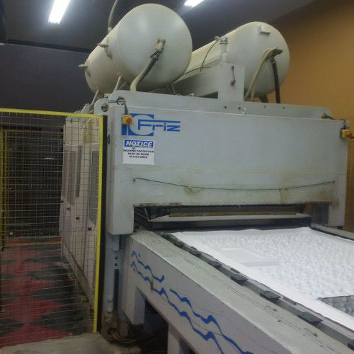 Friz MFP 22/16/30, Membrane press with with double shuttle